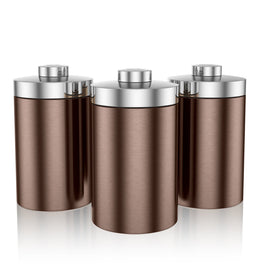 Swan Townhouse Set of 3 Canisters