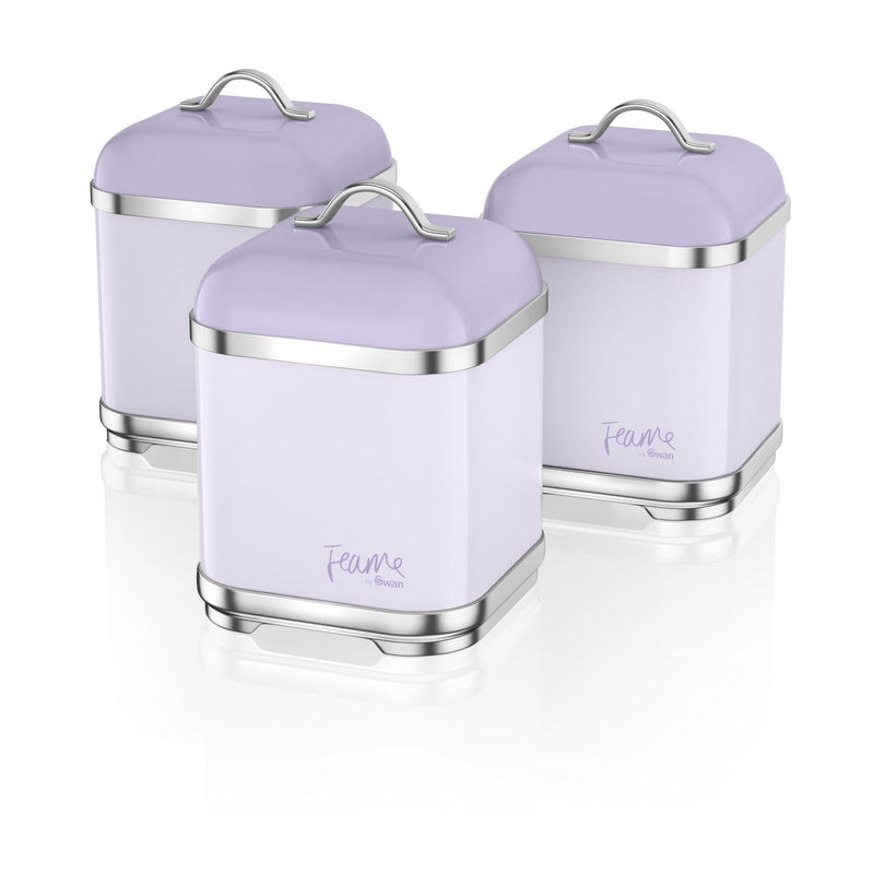 Fearne by Swan Set of 3 Canisters
