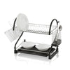 Swan 2 Tier S Shape Dish Rack