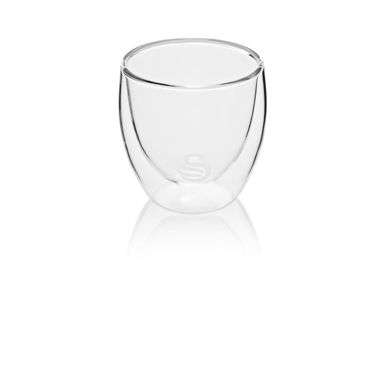 Swan Set of 4 Double-Wall Espresso Glasses 100ml