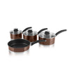 Swan Townhouse 4 Piece Pan Set