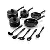 Swan 5 Piece Pan Set with 5 Piece Utensil Set