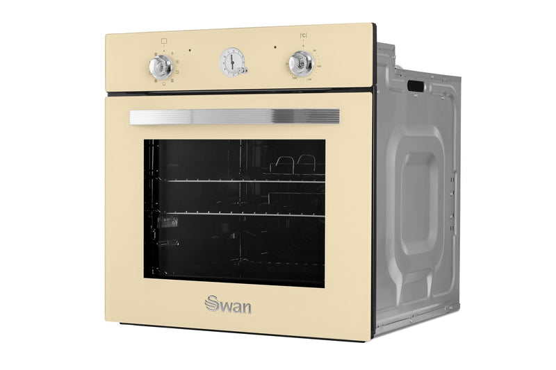 Swan Retro Built-in Electric Single Oven