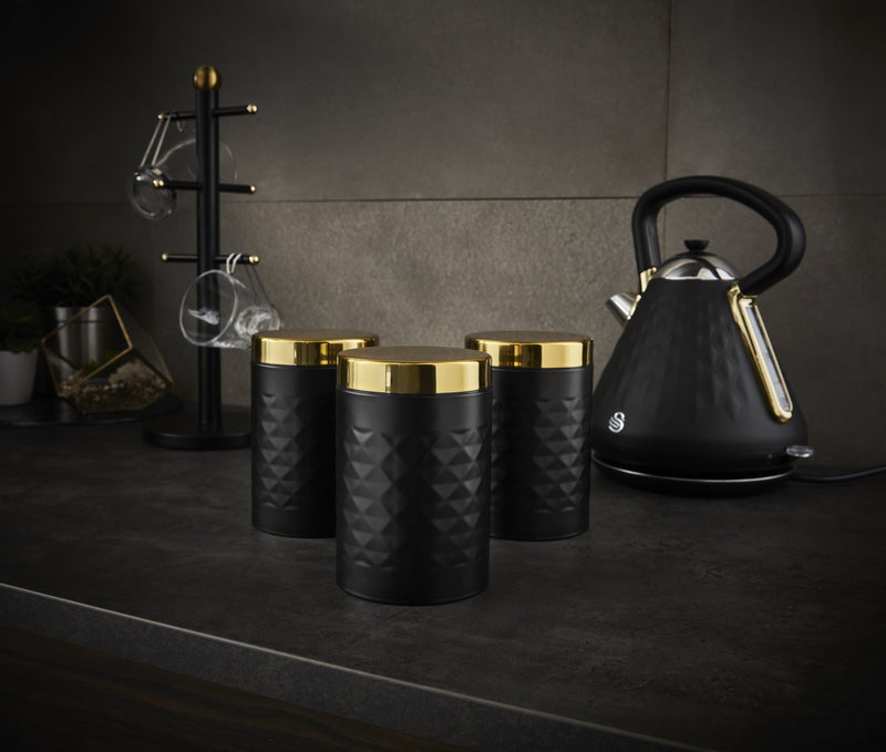 Swan Gatsby Set of 3 Canisters