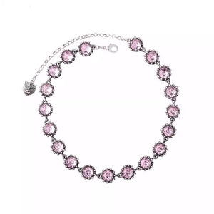 'Think Pink' Choker Necklace