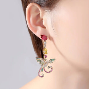 'Toucan' Earrings