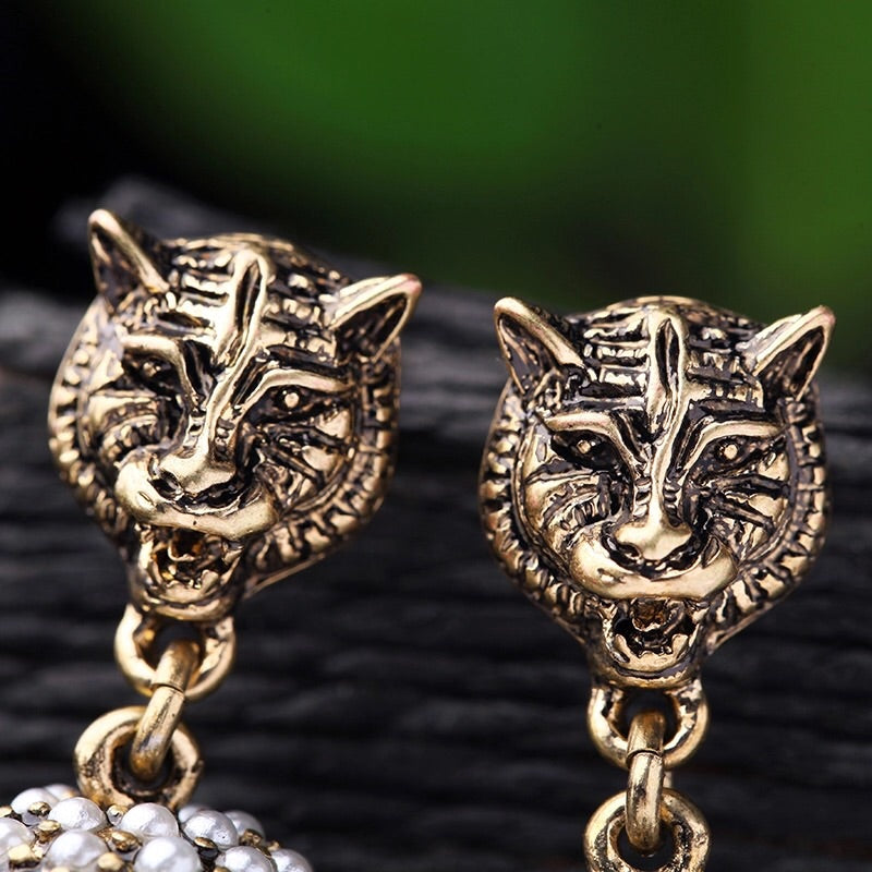 'Lionheart' Earrings