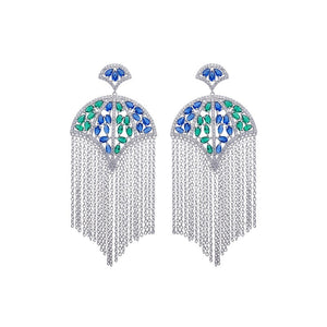 'Parisian Rain' Earrings