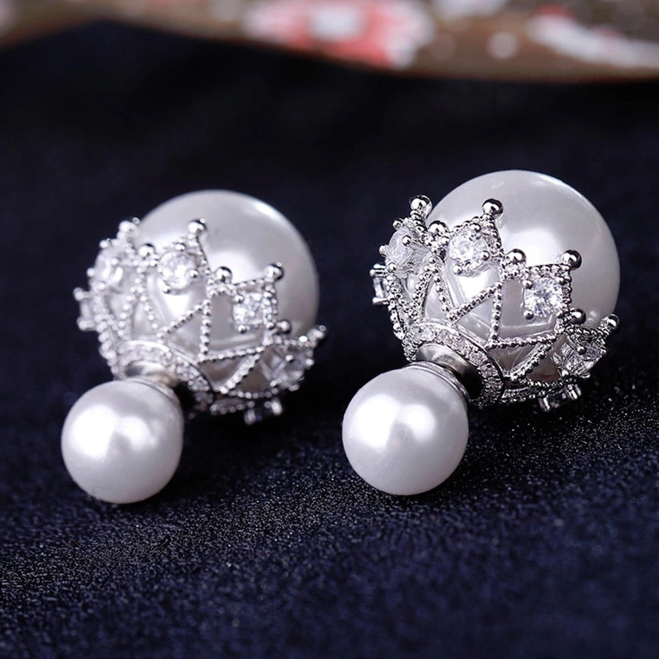 'Snow Balls' Earrings