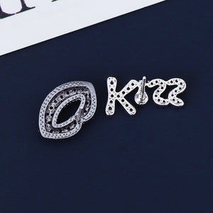 'Valentine's Kiss' Earrings