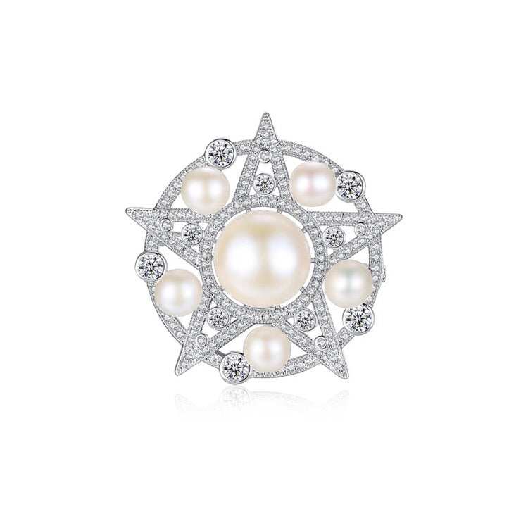 'Pearl of Gulf' Brooch