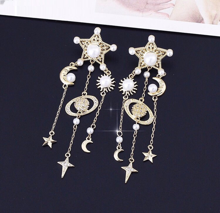 'Galaxy' Earrings