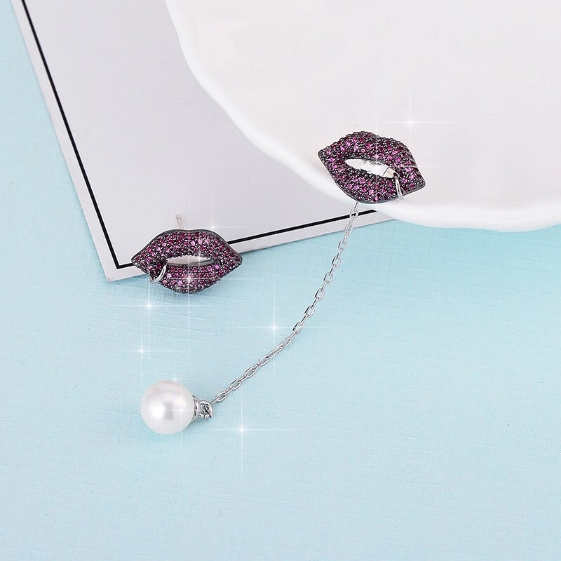 'Kiss Me Harder' Earrings