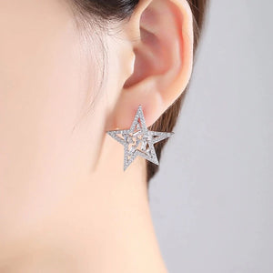 'Moon and Start' Earrings
