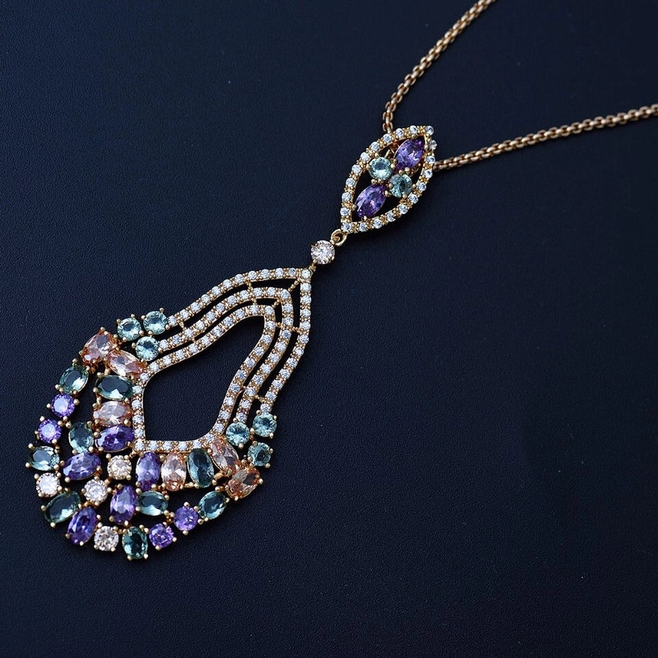 'Moroccan Mosaic' Necklace