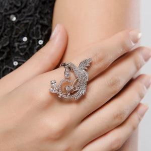 'Hummingbird' Ring