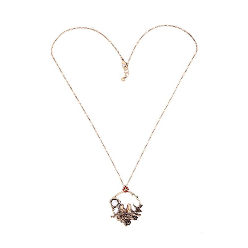 'Lovebirds' Necklace