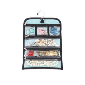 Hanging Travel Jewelry & Accessories Organizer Roll Bag -  - Simplily Co