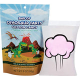 Little Stinker Bag of Dinosaur Farts Cotton Candy Funny for All Ages Unique Birthday for Friends, Mom, Dad, Girl, Gag Gift