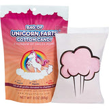 Little Stinker The Original Bag of Unicorn Farts Cotton Candy Funny Novelty Gift for Unique Birthday Gag Gift for Friends, Mom, Dad, Girl, Boy Grandson