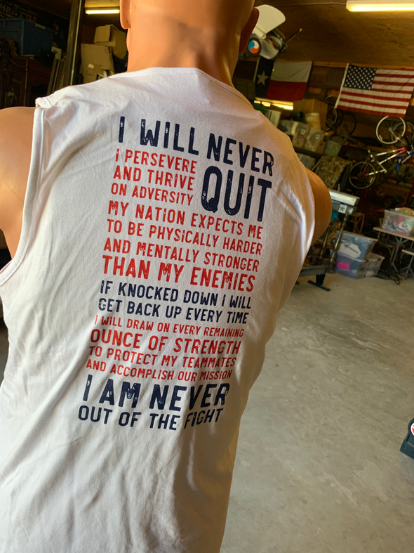 Red,White, and Blue Creed Tank