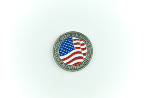 Patriot Tour Challenge Coin - David Goggins