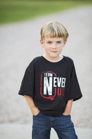 Team Never Quit Youth Logo Tee