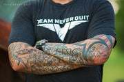 Team Never Quit Creed - BLACK