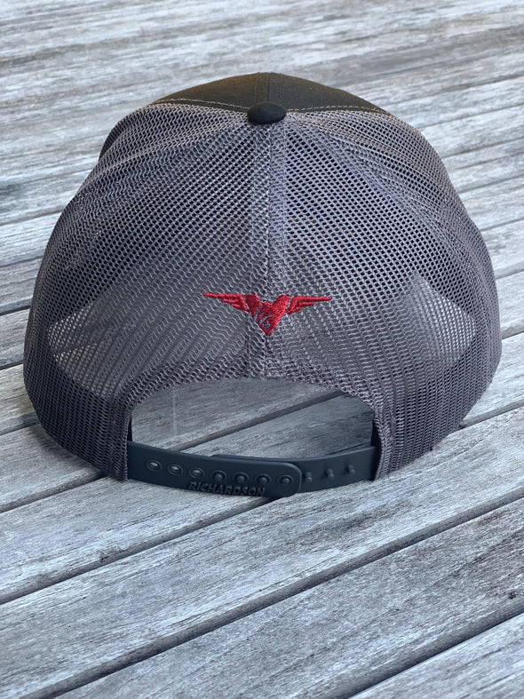 TNQP Black and Grey Trucker Hat