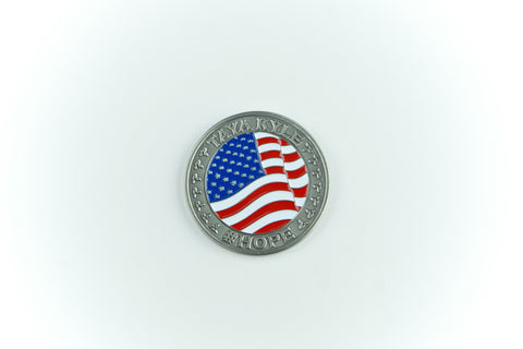 Patriot Tour Challenge Coin - Taya Kyle