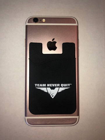 Team Never Quit Cell Phone Wallet