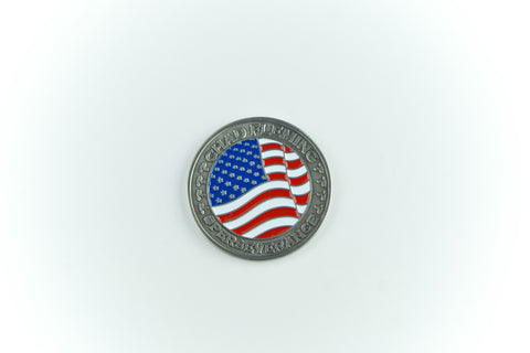 Patriot Tour Challenge Coin - Chad Fleming