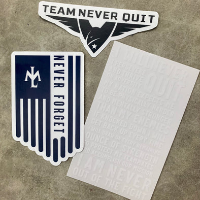 Never Quit Sticker Pack