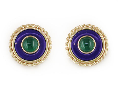 Omega Clip Earrings
