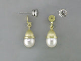 DIAMOND STUD EARRINGS & SOUTH SEA PEARL JACKETS