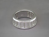 DIAMOND BAGUETTE PARTIAL ETERNITY RING