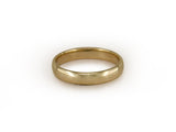 YELLOW GOLD WEDDING BAND SET