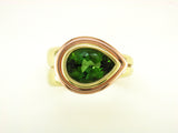 PEAR SHAPE TOURMALINE RING