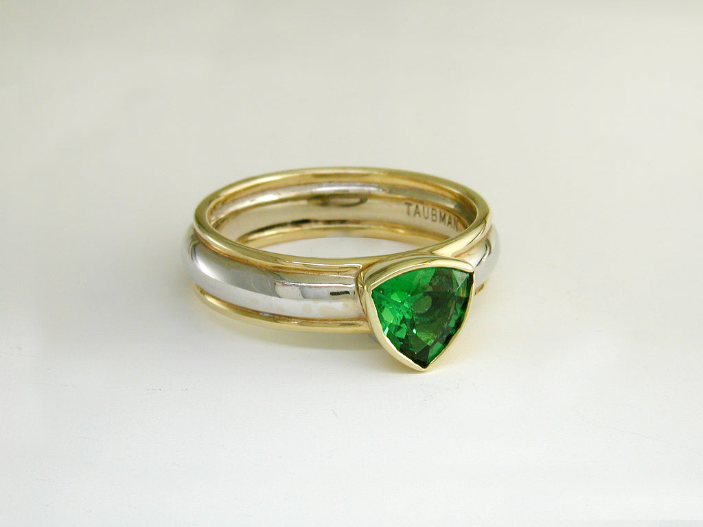 TRILLION TSAVORITE RING