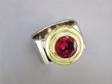 ROUND SPINEL RING