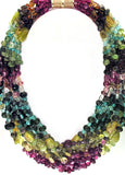 MULTISTONE 8-STRAND NECKLACE