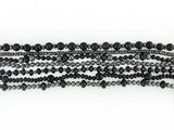 BLACK ONYX & HEMATITE 7-STRAND NECKLACE