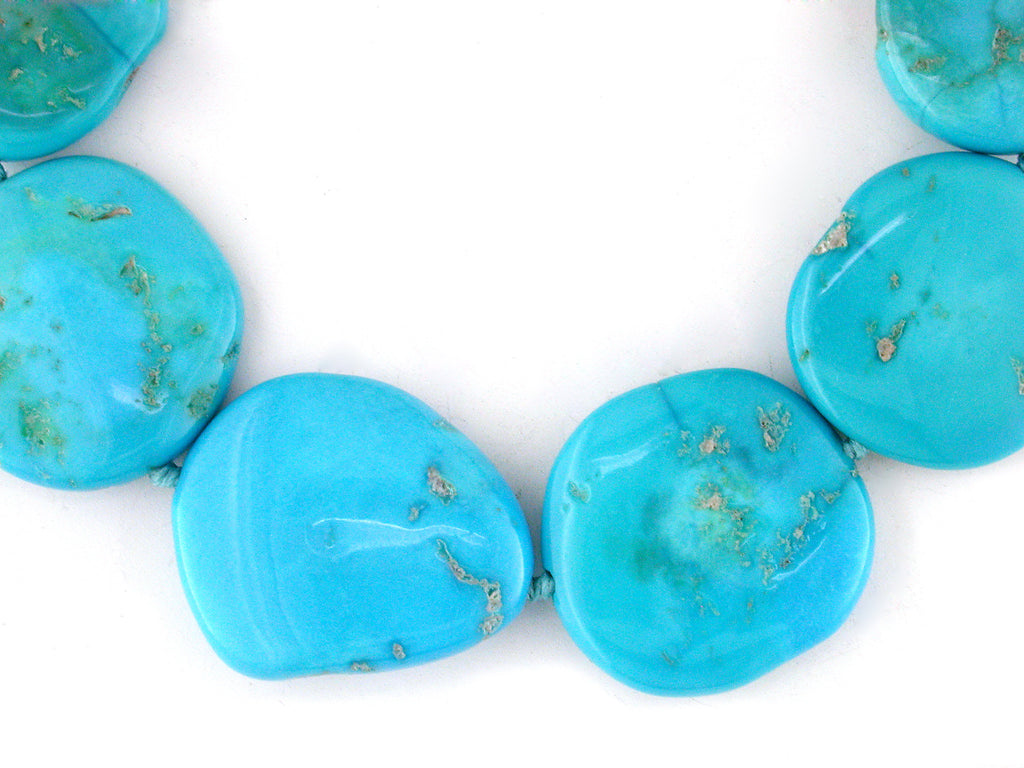 SMOOTH TURQUOISE NECKLACE