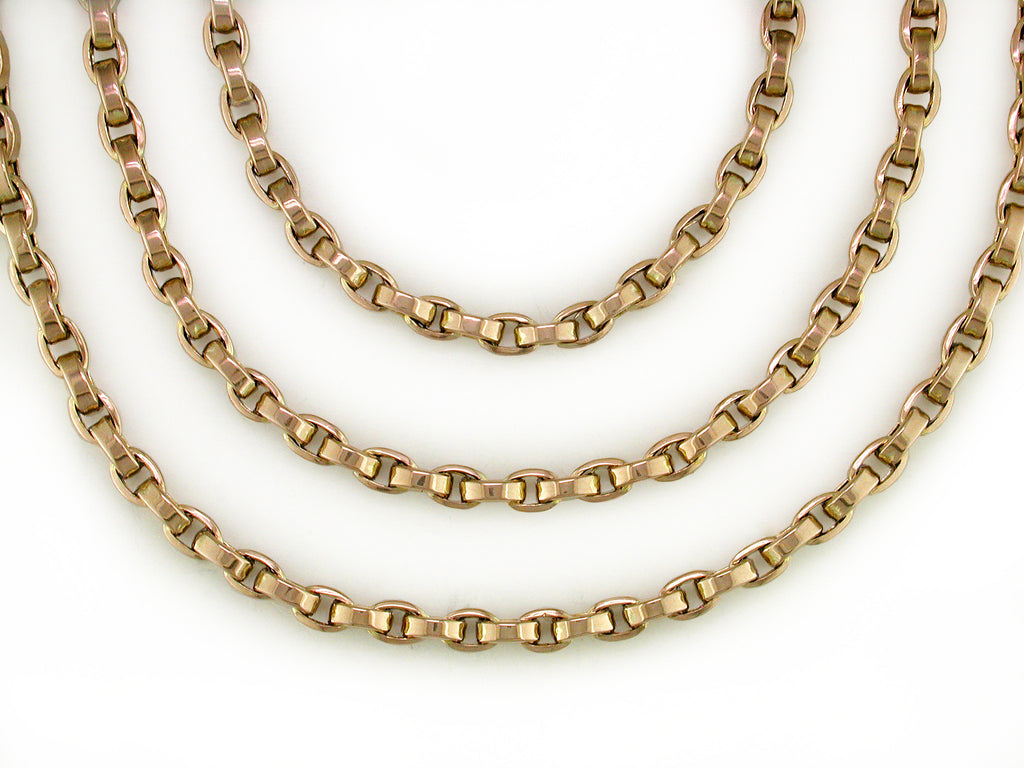 VICTORIAN BELCHER CHAIN NECKLACE