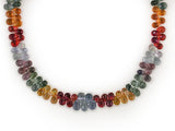 MULTICOLOR TEARDROP BRIOLETTE NECKLACE