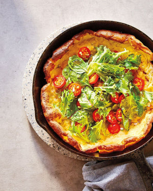 Cheesy Dutch Baby