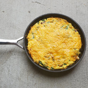Clean-Out Refrigerator Frittata
