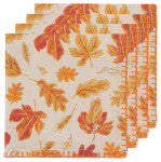 Now Designs Autumn Harvest Printed Napkins (Set of 4)