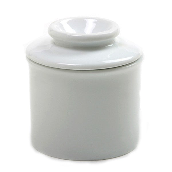 Norpro White Porcelain Butter Keeper