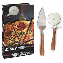 Natural Living Pizza Serving Set